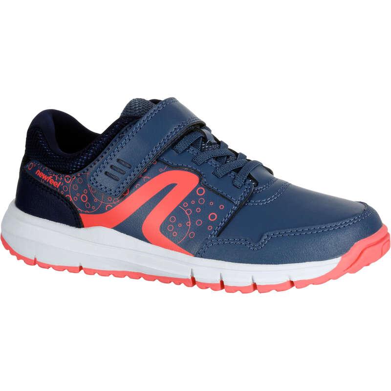 JUNIOR SPORT WALKING SHOES Power Walking - Protect 140 blue/pink NEWFEEL - Walking Trainers