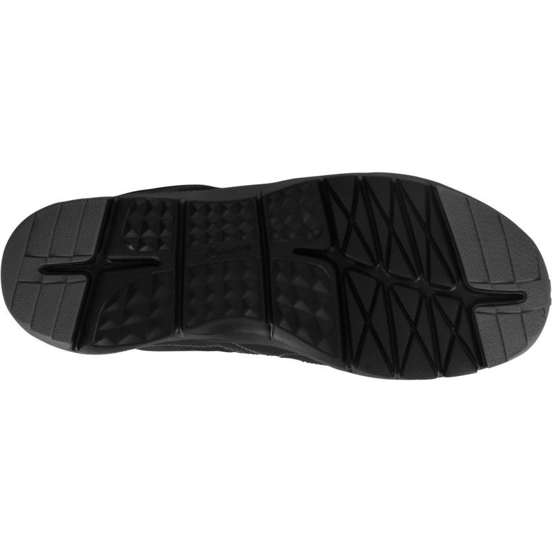 รองเท้าผู้ชายสำหรับใส่เดินเพื่อสุขภาพรุ่น HW 100 (สีดำ)