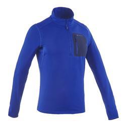 T-Shirt manches longues de randonnée neige homme SH500 active chaud