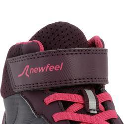 Kindersneakers voor wandelen Protect 580 waterproof pruim / roze