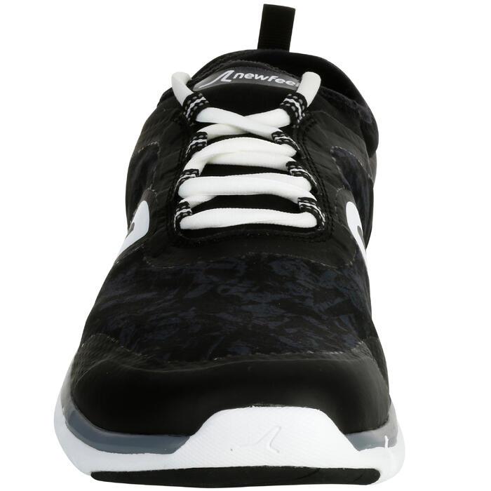 Zapatillas Marcha Deportiva Newfeel PW 580 impermeables hombre negro