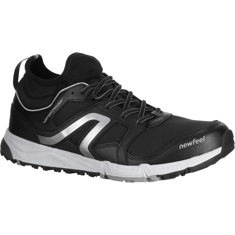 NORDIC WALKING SHOES Hiking - NW 580 Flex-H waterproof black NEWFEEL - Outdoor Shoes
