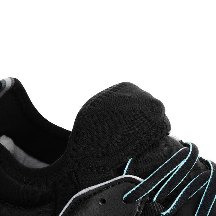 Chaussures marche nordique femme NW 580 Waterproof noir / bleu - 1181006