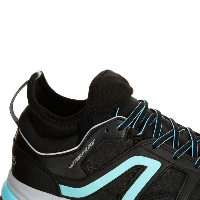 Chaussures marche nordique femme NW 580 Waterproof noir / bleu - 1181043