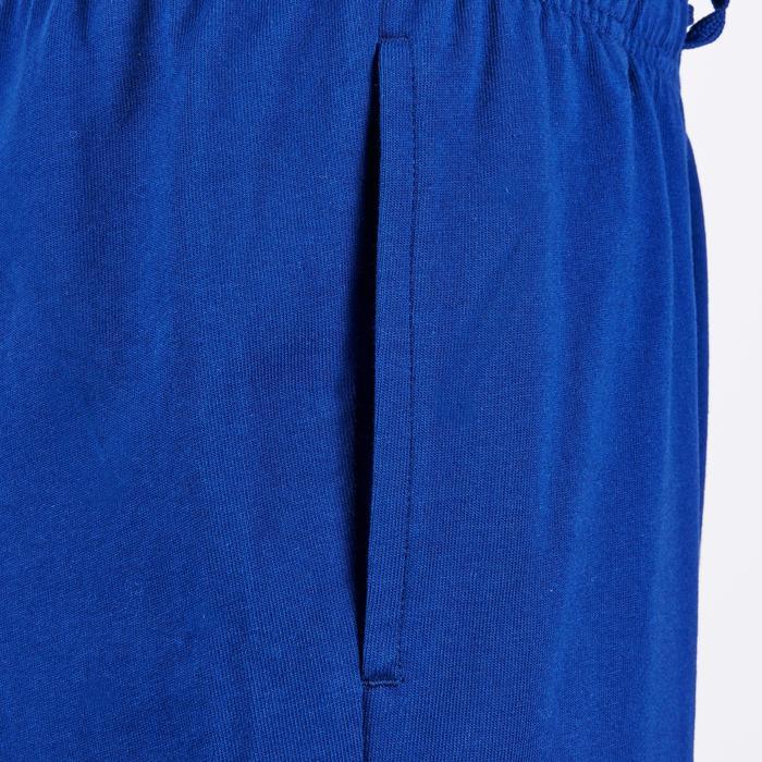Short Fitness garçon bleu - 1181089