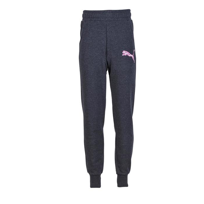 Pantalon molleton fille gris - 1181116