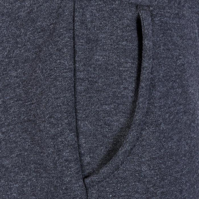 Pantalon molleton fille gris - 1181125