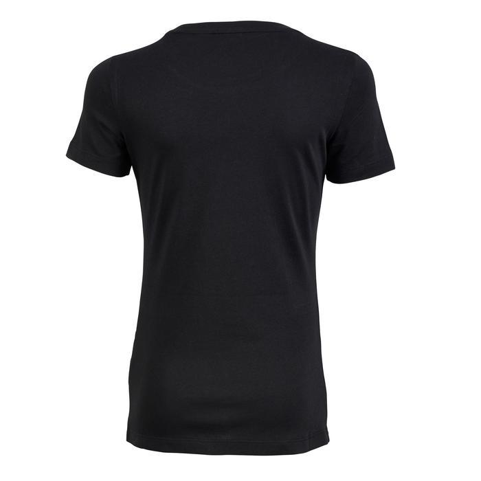 Tshirt Fitness fille noir - 1181126
