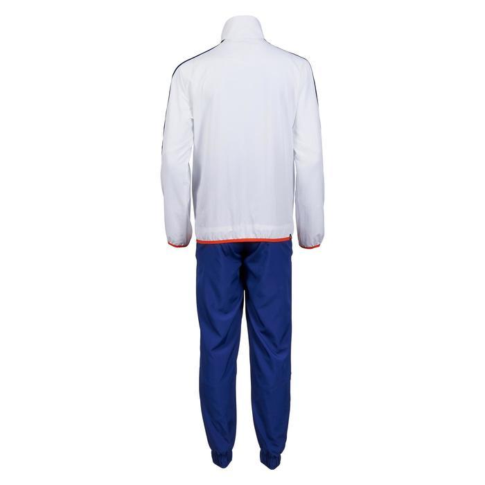 Survêtement Fitness garçon bleu blanc - 1181156