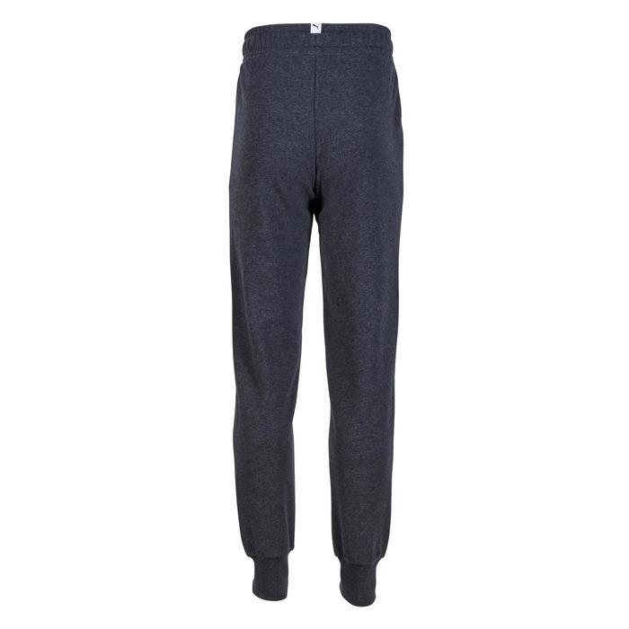 Pantalon molleton fille gris