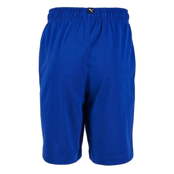 Short Fitness garçon bleu - 1181197