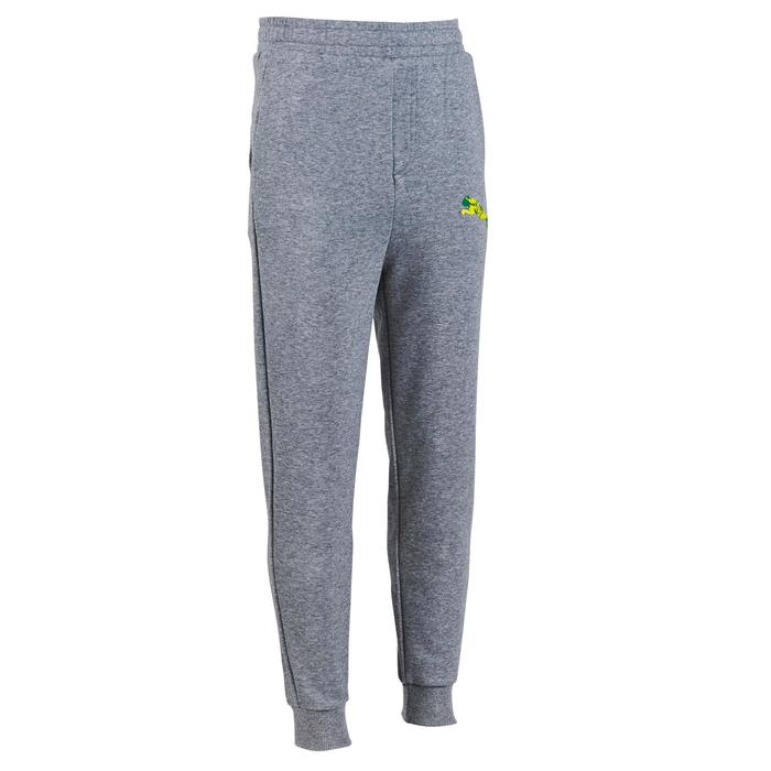 Pantalon molleton garçon gris - 1181223