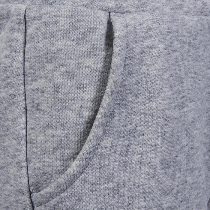 Pantalon molleton fille gris - 1181235