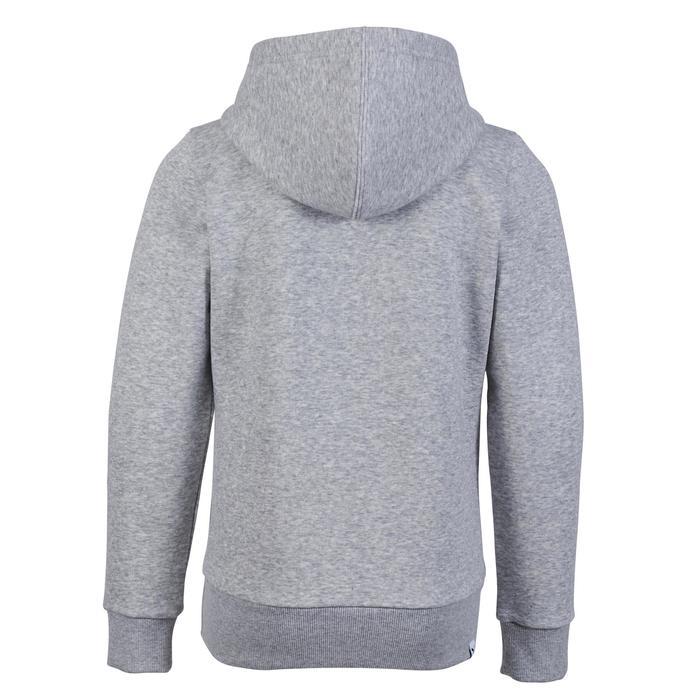 Veste molleton fille gris - 1181236