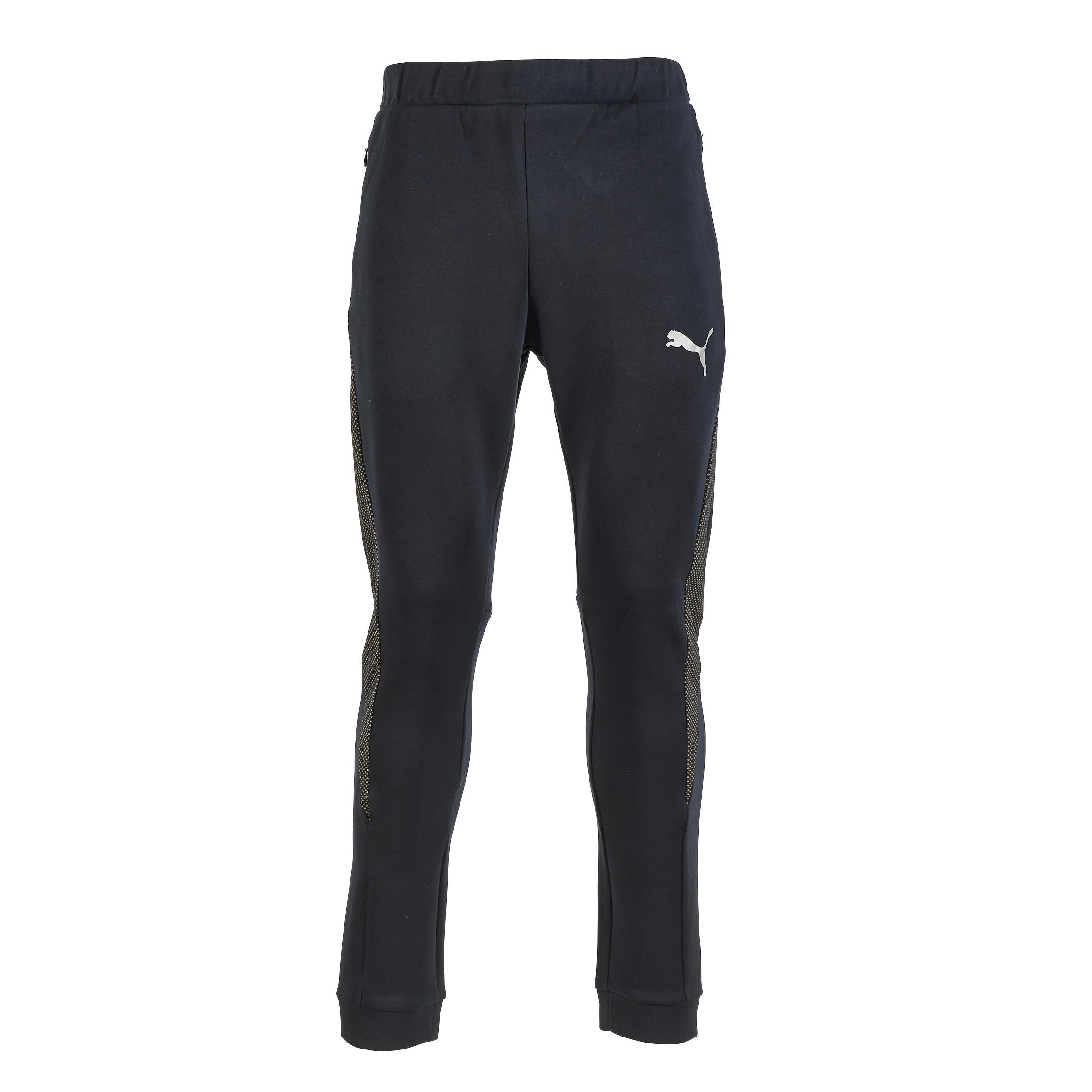 Puma Herenbroek voor gym en pilates zwart