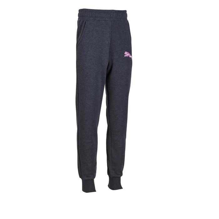Molton broek voor meisjes grijs