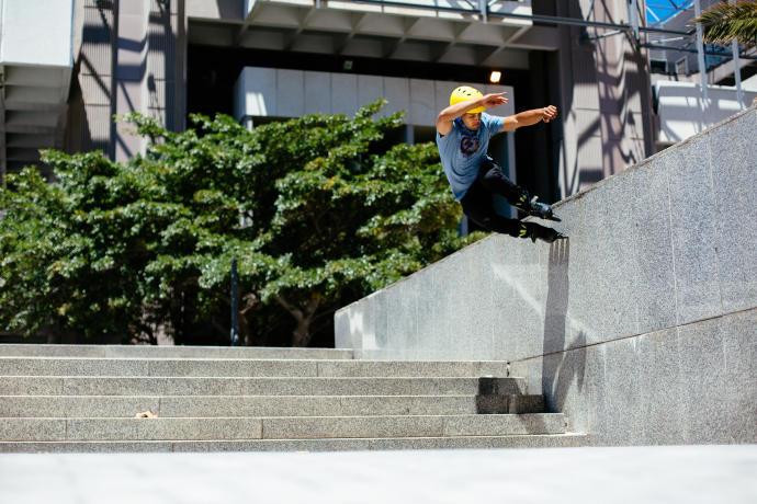 vertical skating