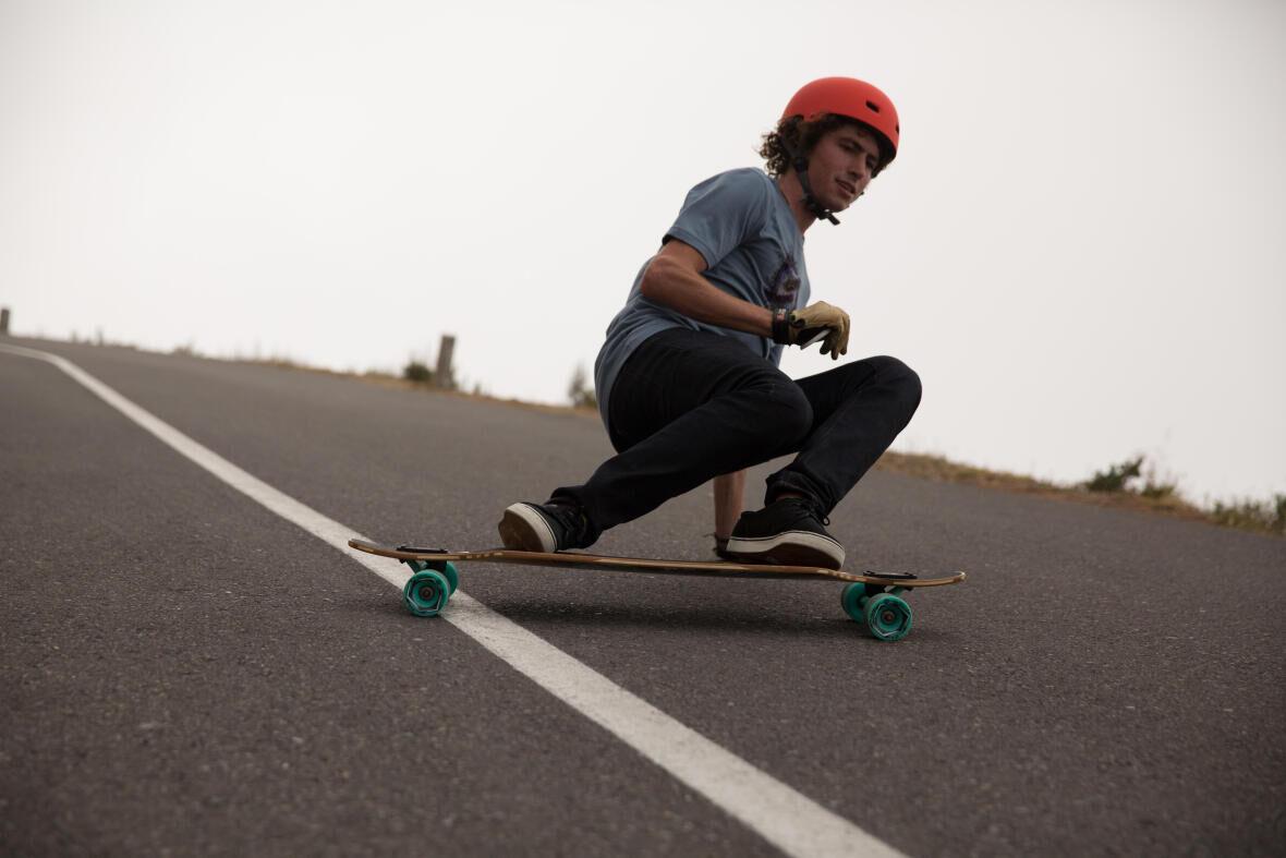 Downhill Skating