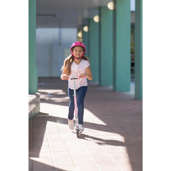 TROTTINETTE ENFANT MID 3 AVEC SUSPENSION NOIRE/BLEUE - 1181510