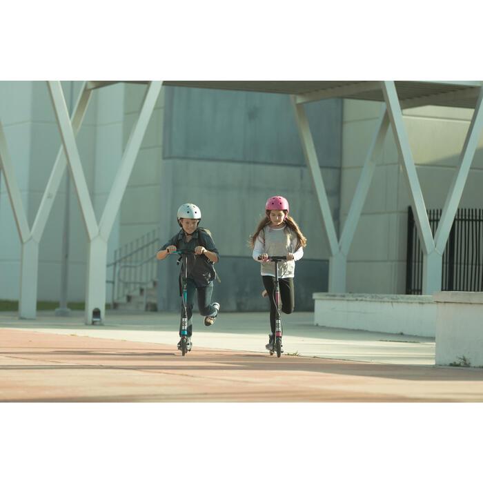 Helm voor skeeleren, skateboarden, bmx'en PLAY 3 roze