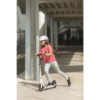 Casque roller skateboard trottinette PLAY 7 Mandala Blanc