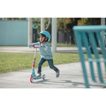 kinder roller scooter play 5 mit bremse oxelo decathlon. Black Bedroom Furniture Sets. Home Design Ideas