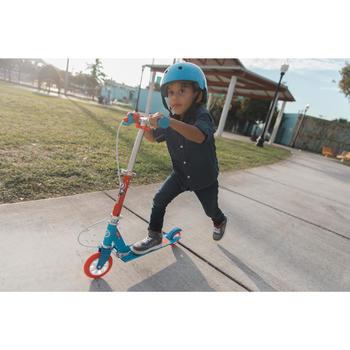 Kinderstep met rem Play 5 blauw