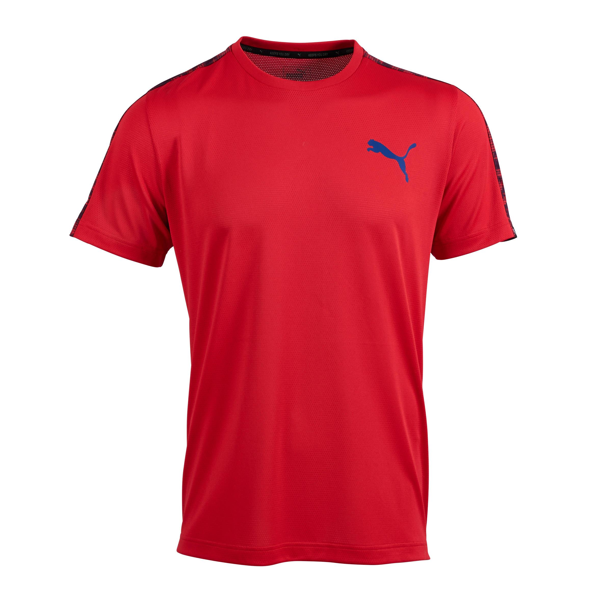 Puma Fitness T-shirt heren rood