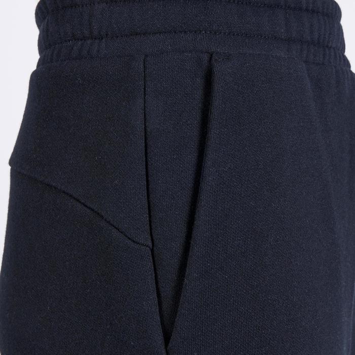 Molton broek voor jongens zwart