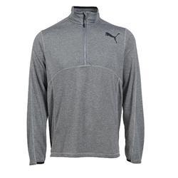 Fitnesssweater voor heren grijs
