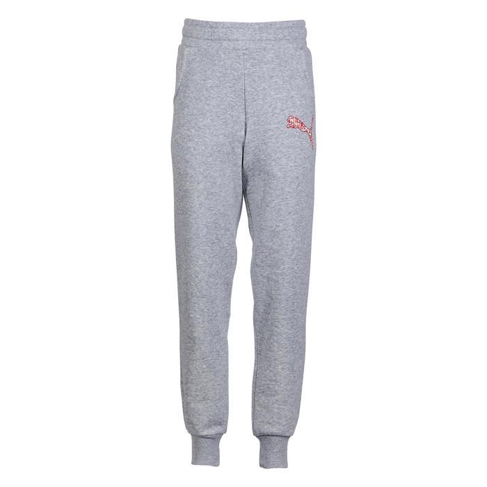 Pantalon molleton fille gris - 1181696