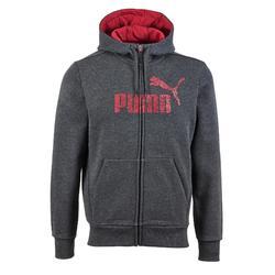 Gym hoodie voor heren donkergrijs