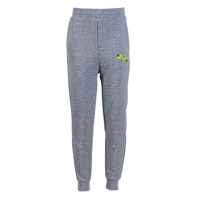 Pantalon molleton garçon gris - 1181784