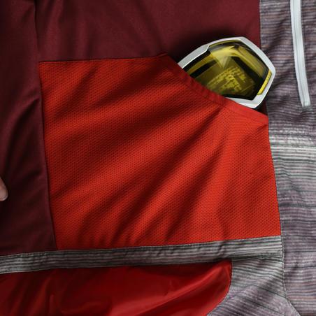 Evostyle Men's Ski Jacket - Burgundy