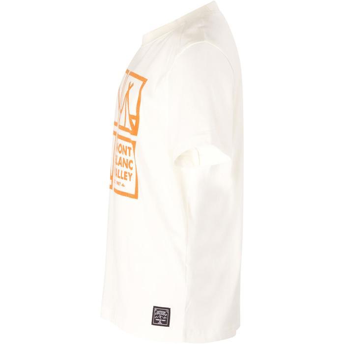 Camiseta de travesía niño Hike 500 blanco
