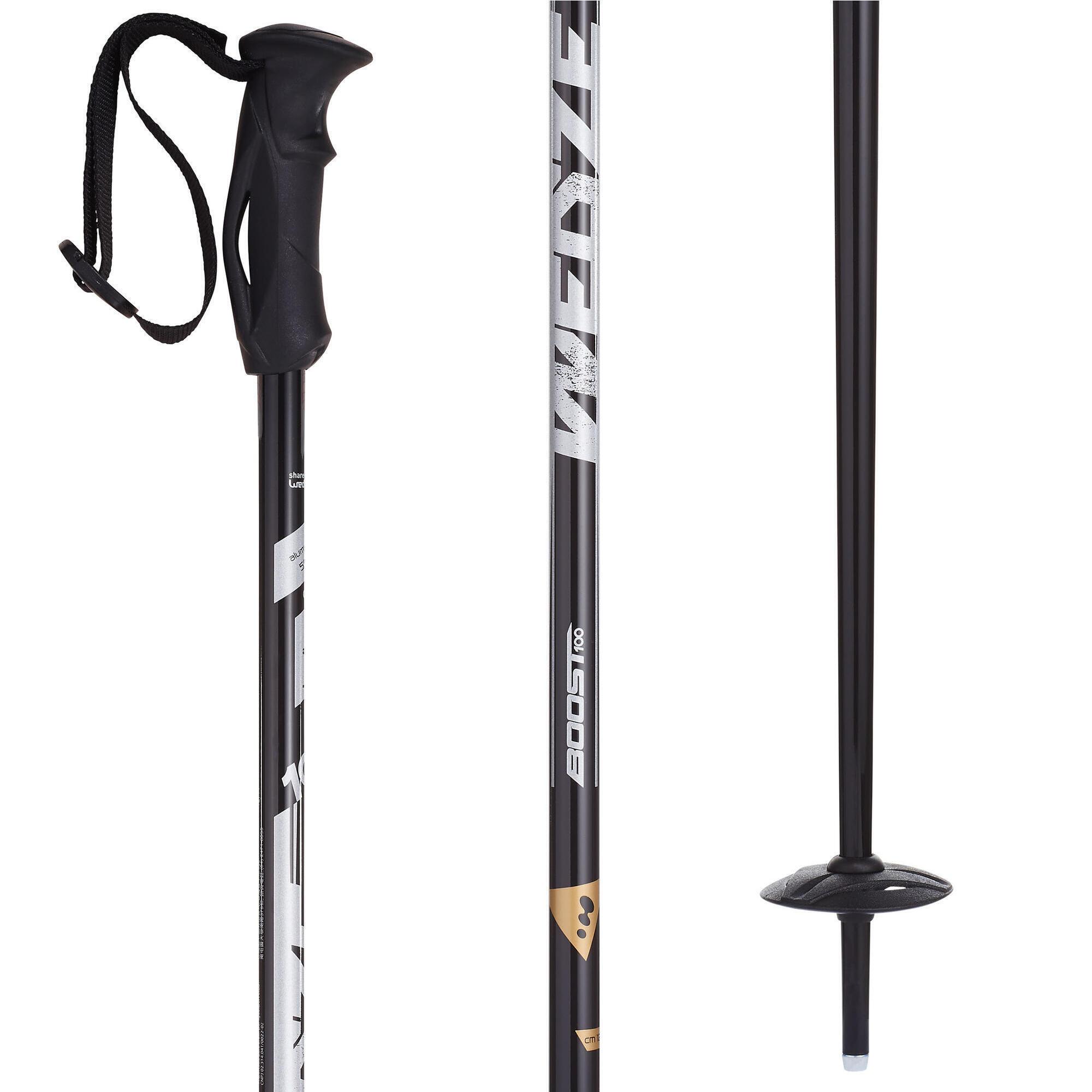 Boost 100 Men's Ski Poles - Black