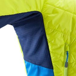 Bergsteigerjacke Hybrid Sprint Herren limitierte Auflage anisgrün/blau