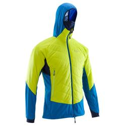 Hybrid Sprint Men's Limited Edition Jacket: aniseed green & blue