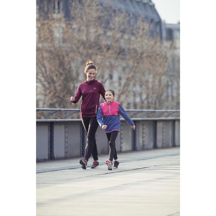 Kindersneakers PW 540 grijs/blauw/roze