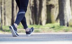 Men's Fitness Walking Shoes PW 580 Plasma WaterResist - black