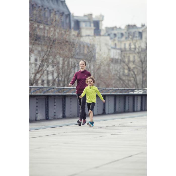 Kindersneakers voor wandelen PW 540 zwart / wit