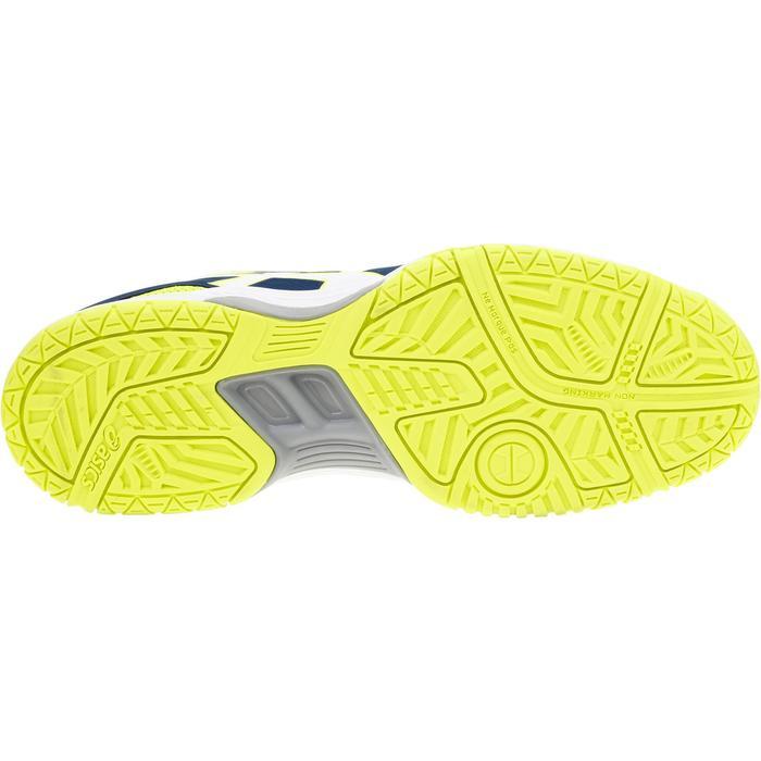 Schoenen voor badminton/squash heren Gel Hunter blauw/geel