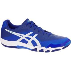 Schoenen voor badminton of squash, heren, Gel Blade 6, blauw