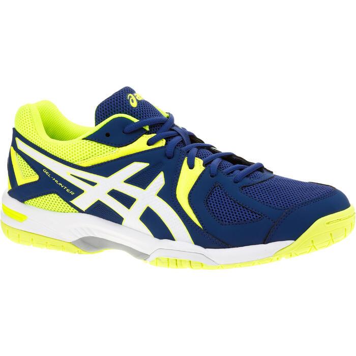 Badmintonschoenen voor heren Asics Gel Hunter blauw/geel