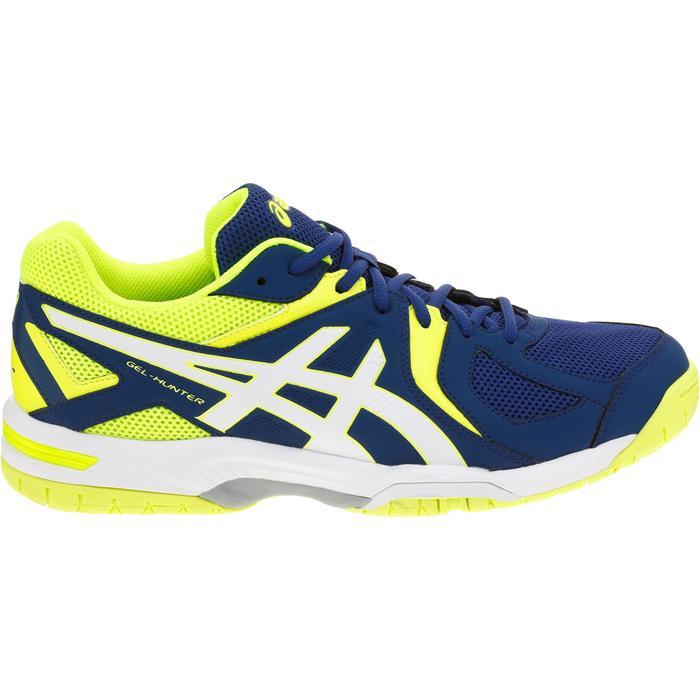 Adelaida escucho música agitación  Men's Badminton Shoes Gel Hunter - Blue/Yellow ASICS - Decathlon