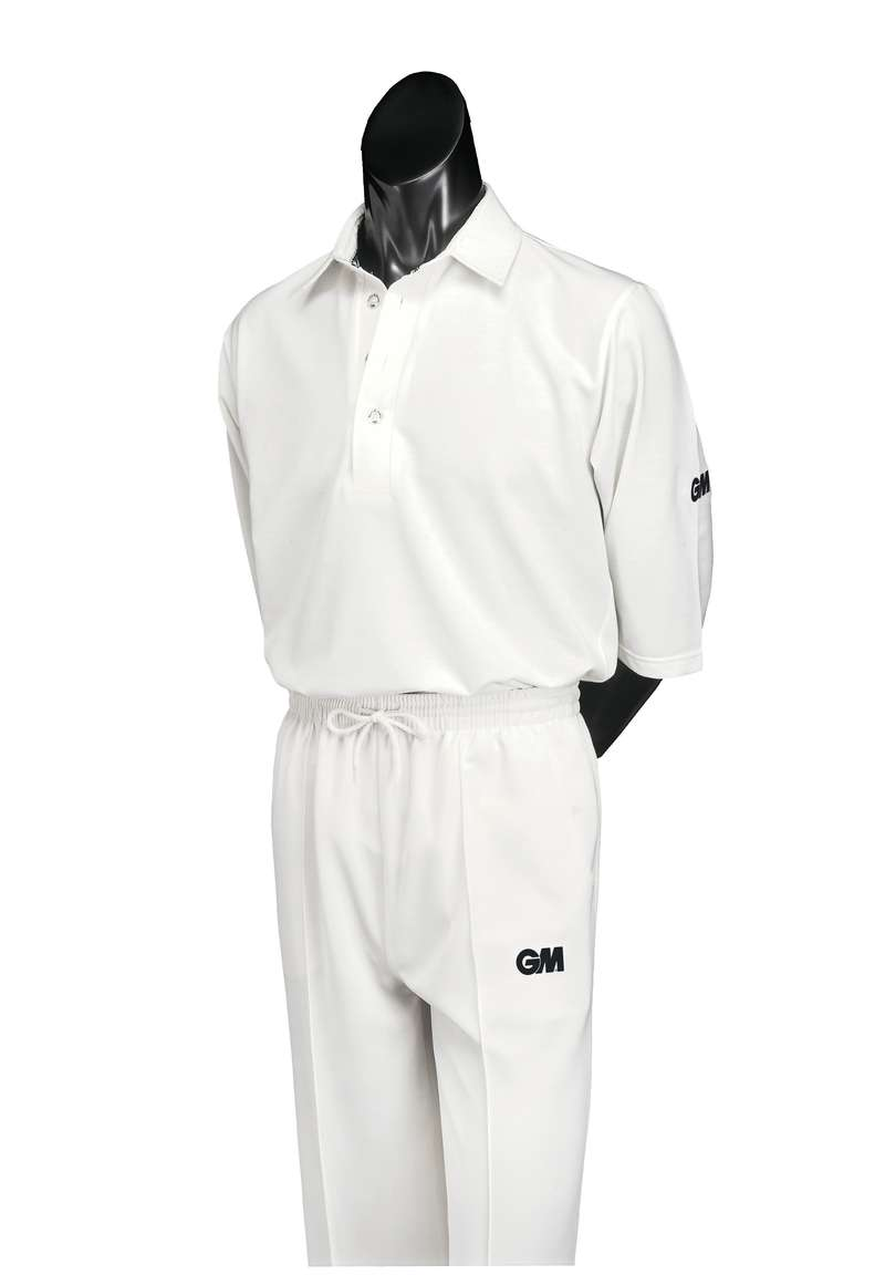LEATHER BALL INTERMEDIATE APPAREL ADULT Cricket - GM Premier Club Trouser Senior GUNN & MOORE - Cricket