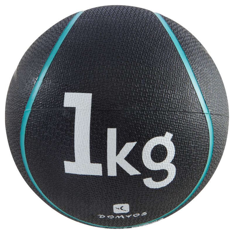 TONING EQUIPMENT Fitness and Gym - Medicine Ball 1kg NYAMBA - Fitness and Gym