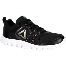Damessneakers Yourflex zwart