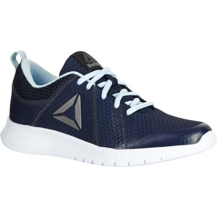 Chaussures marche sportive femme Soft Walk bleu - 1182501
