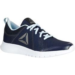 Chaussures marche sportive femme Soft Walk bleu